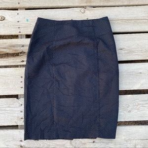 I.N San Francisco woman's dot black skirt 9